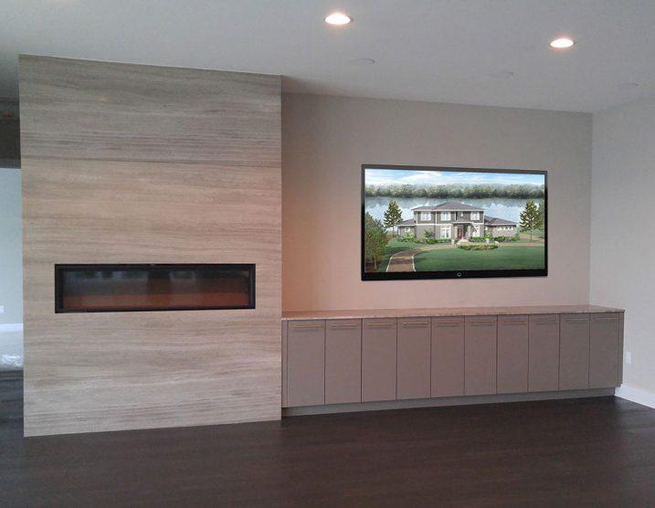 Custom Home Fireplace Tampa